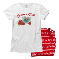 Corazon Ladies Christmas Pajamas