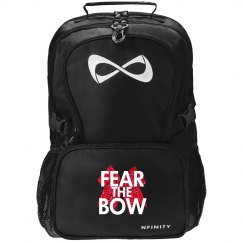 Red Glitter Fear the Bow!