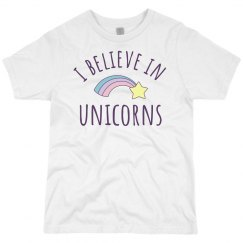 I Believe In Unicorns Kids Gift