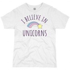 I Believe In Unicorns Kids Gift