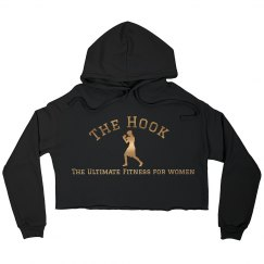 Hook Cropped Hoodie