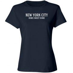 New York City home sweet home