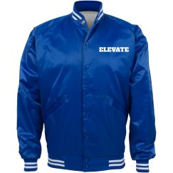 ELEVATE BLUE BOMBER JACKET