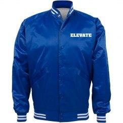ELEVATE BLUE BOMBER JACKET