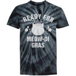 I'm Ready For Meowdi Gras Black