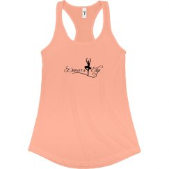 Dancers edge slim tank top