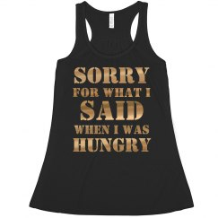 When I Was Hungry Girl