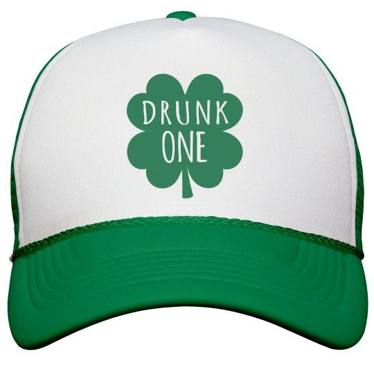 4b7a7d09c Irish Girl Drunk One Shamrock