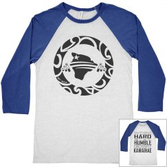 Work Hard Stay Humble RAGLAN