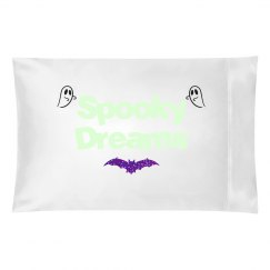 Spooky Dreams Glow in the dark pillow case