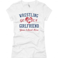 Custom Wrestling Girlfriend Tee