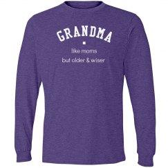 Grandma older & wiser