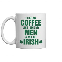 Funny St Patricks Day Irish Mug