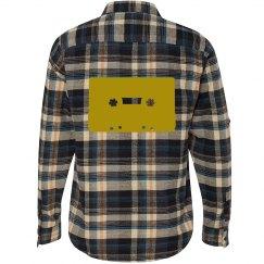Gold Cassette Tape