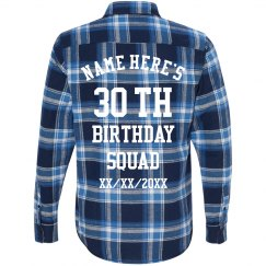 Custom Birthday Squad Design