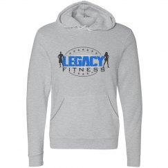 Legacy Ladies Gray Unisex Pullover Hoodie