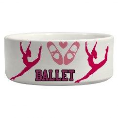 Ballet Dog Bowl