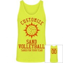 Custom Sand Volleyball