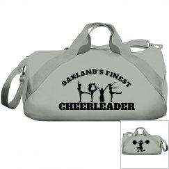 Oakland cheerleader