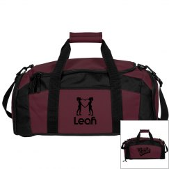 Leah. Cheerleader Bag