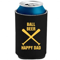Ball Beer Happy Dad