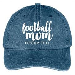 Football Mom Custom Baseball Cap