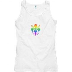 Rainbow Fleur-de-Lis