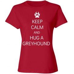 Hug a Greyhound