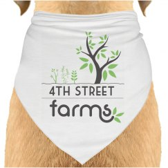 4th Street Farm Doggie Bandana