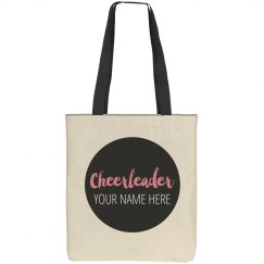 Custom Cheerleader Tote Bags