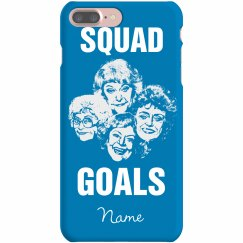 Custom Name Squad Goals BFF Cases