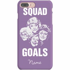 Squad Goals Best Friend Phone Cases