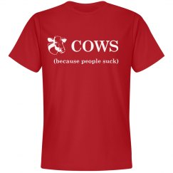 Cows Cotton Mens Tee