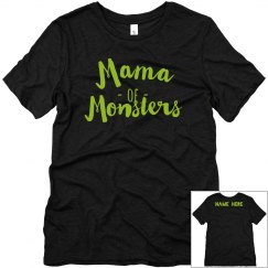 Custom Name Mama Of Monsters