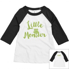 Toddler Matching Mom Little Monster