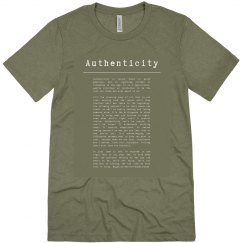 Authenticity green olive