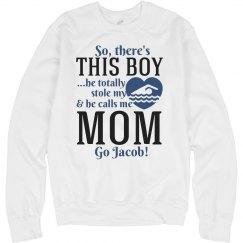 Cute Swim Mom Design