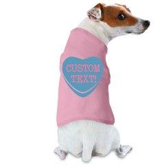 Custom Valentine's Pup