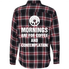 Flannel Mornings are For Coffee And Contemplation