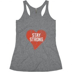 Stay Strong Vtg Heartbrk