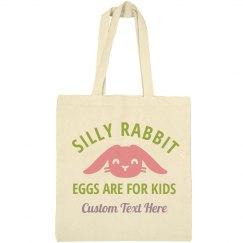 Eggs For Kids Custom Easter Tote