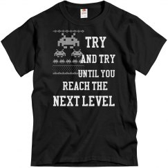 Try and Try Until You Reach the Next Level