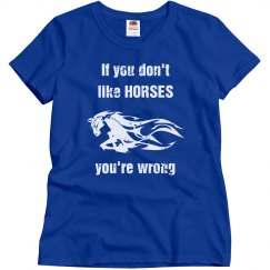 If you don't like horses