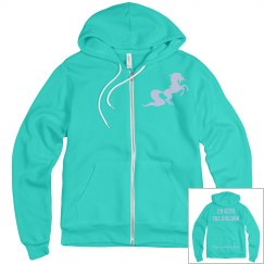 Unicorn men's zip up