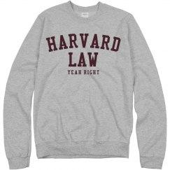 Harvard Law Yeah Right