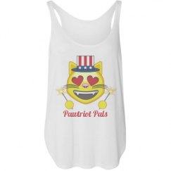 Ladies Flowy Tank with Side Slit