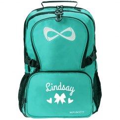 Customizable Name Cheer or Dance Nfinity Backpack
