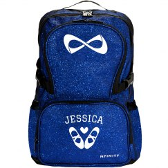 Custom Name Dance Ballet Sparkle Backpack