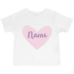 Custom Toddler Valentine Outfit