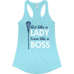 Act Like A Lady Lacrosse